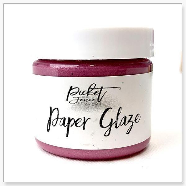 Picket Fence Studios Paper Glaze - Peony Pink