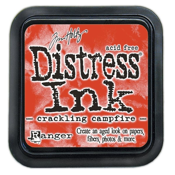 Ranger Ink Tim Holtz Distress Ink Pad Crackling Campfire