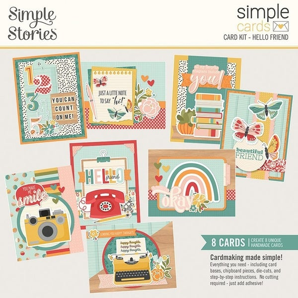 Simple Stories Hello Friend Simple Cards Card Kit