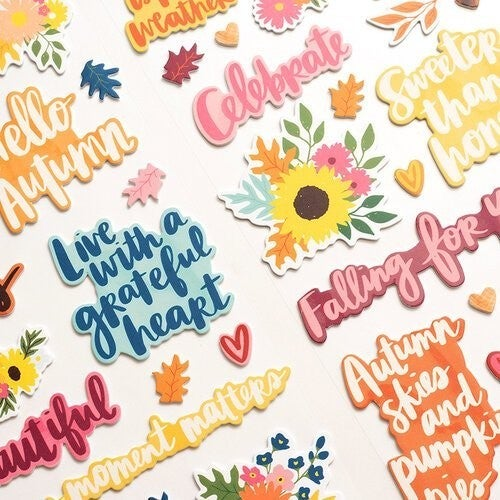Amy Tangerine Late Afternoon Thickers  Phrase  Grateful Foam