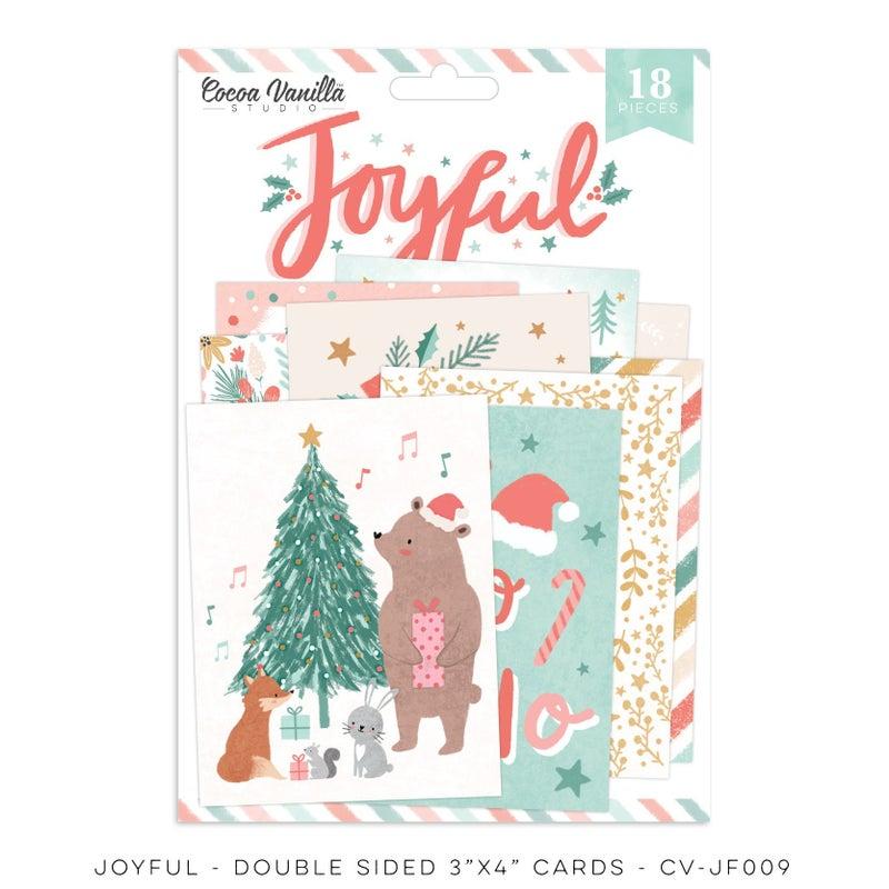 PRE ORDER Cocoa Vanilla Studio JOYFUL – POCKET CARDS