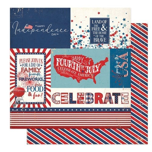 PhotoPlay America the Beautiful 2 pc Happy Scrappy Bag