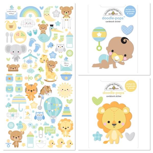 Doodlebug Special Delivery 3 pc Embellishment Set