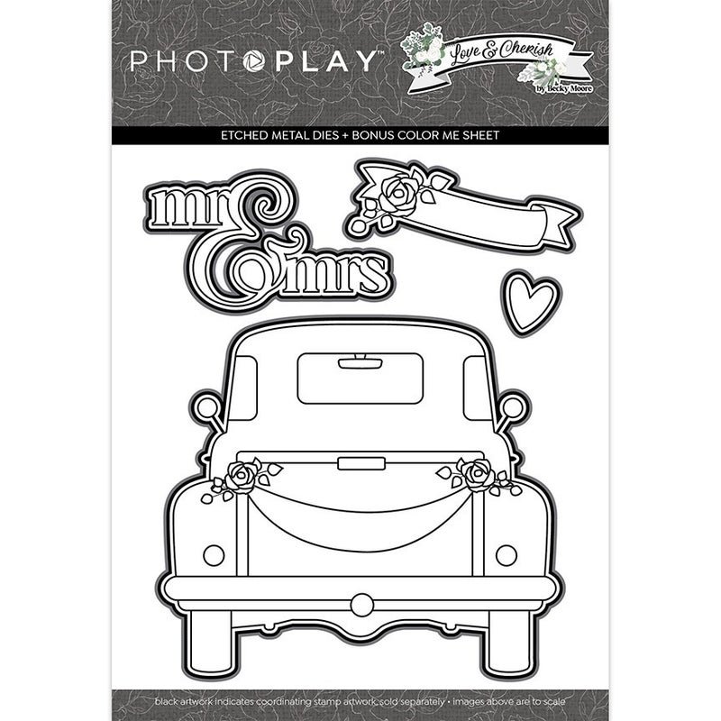 Photo Play Love & Cherish Stamp & Die Set