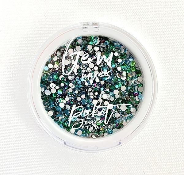 Picket Fence Studios Gem Mixes - Oceans of Green
