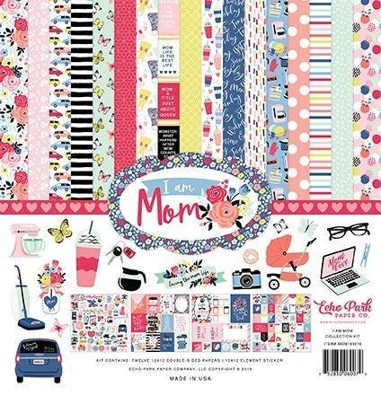 Eco Park I AM MOM 12 x 12 Collection kit
