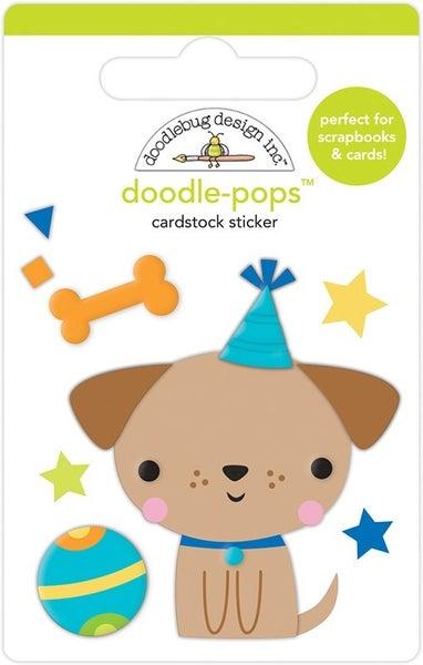 Doodlebug Design Party Time  Doodle-Pops  Yappy Birthday