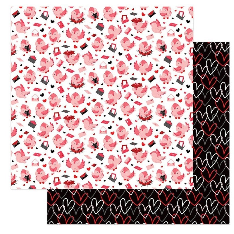 PhotoPlay Love Letters 4 pc paper set