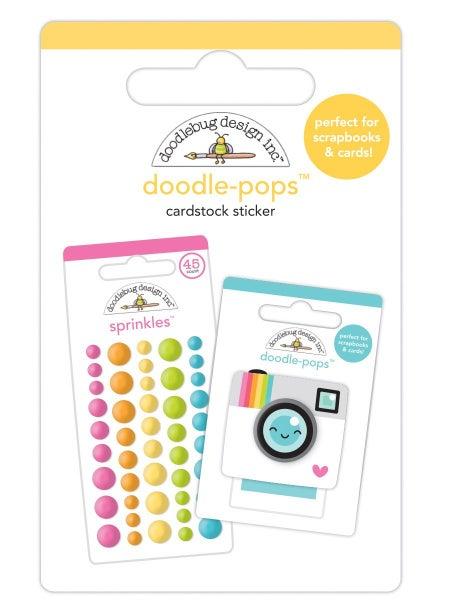 Doodlebug Design  Cute & Crafty  Doodle-Pops - Doodle Minis