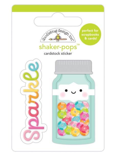 Doodlebug Design Cute & Crafty Shaker-Pops - Sequin Jar