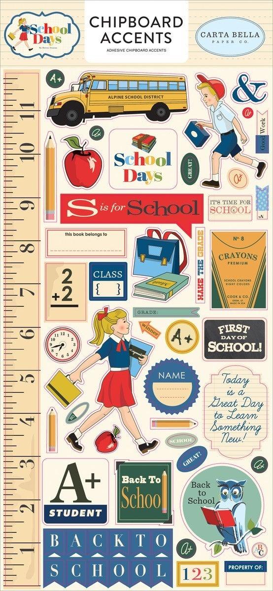 Carta Bella School Days 3 Pc HSB