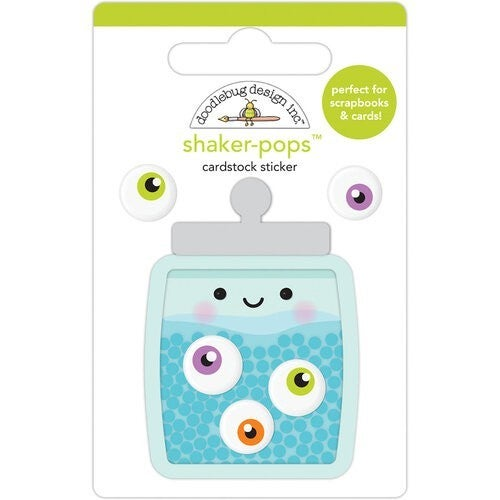 Doodlebug Design Happy Haunting Shaker-Pops - Eye Candy