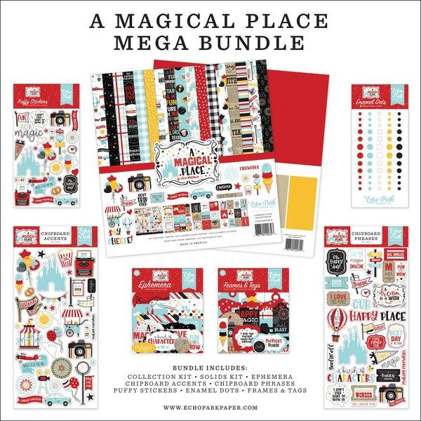 Echo Park  A Magical Place 12 x 12 Mega Bundle