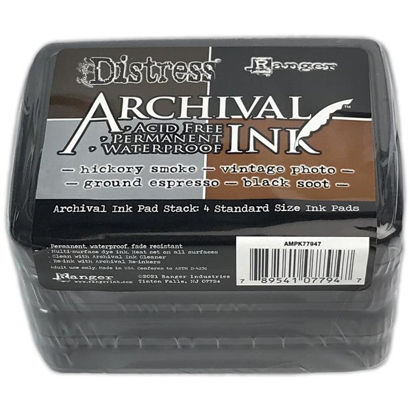 Tim Holtz Distress Archival Ink Pad Stack