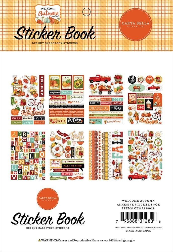 Carta Bella Welcome Autumn Sticker Book