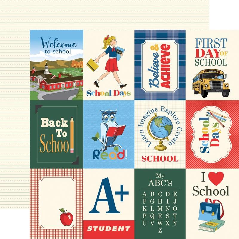 Carta Bella School Days 12 pc set
