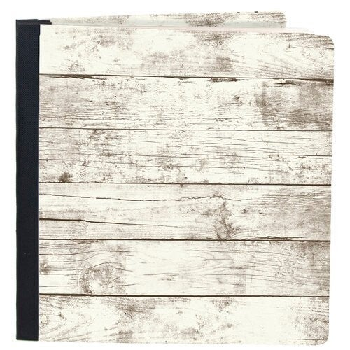 Simple Stories - SNAP Studio Flipbook 6 x 8 Flipbook - Whitewashed Wood