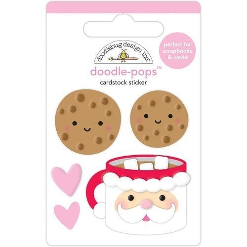 Doodlebug Design  Night Before Christmas Doodle-Pops - Cookies for Santa