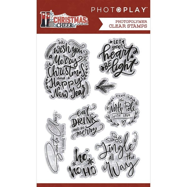 PhotoPlay Christmas Cheer Stamps