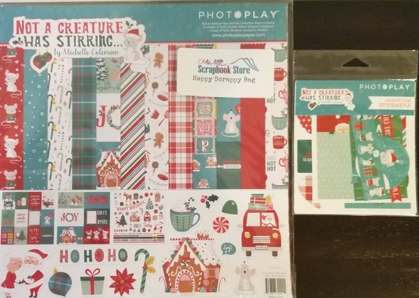 PhotoPlay Not a Creature Was Stirring 2 pc HSB