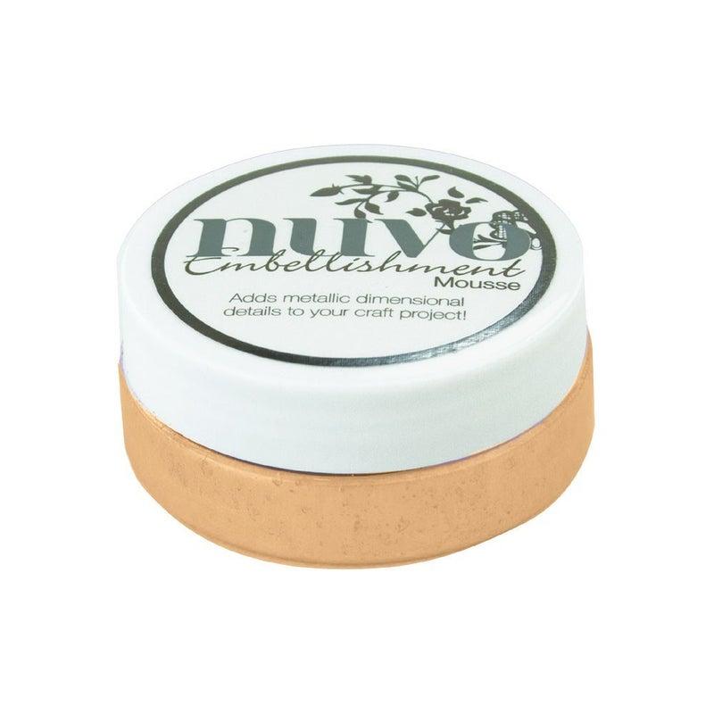 Nuvo - Dream In Colour Collection - Embellishment Mousse - Chai Latte