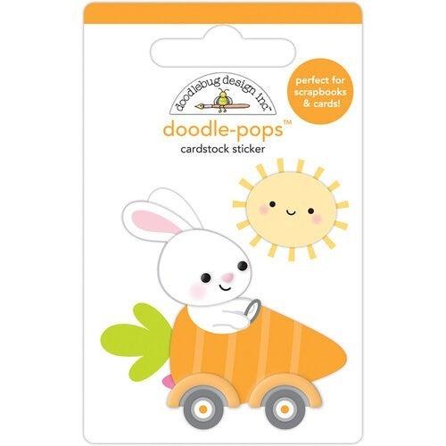 Doodlebug Design - Hippity Hoppity  Doodle-Pops  Bunny I'm Home