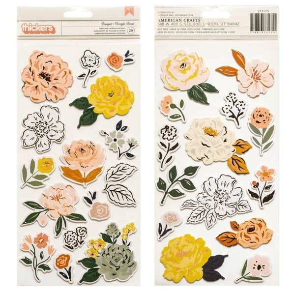 Crate Paper Fresh Bouquet Thickers