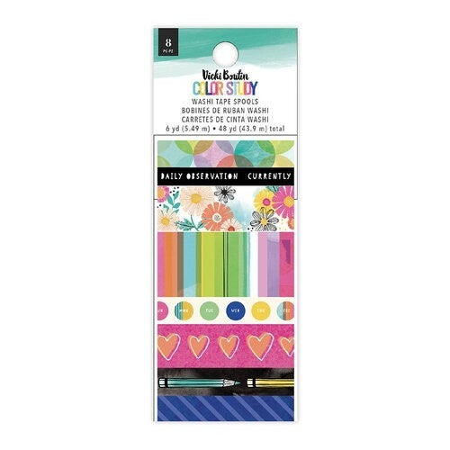 Vicki Boutin Color Study Washi Tape Set