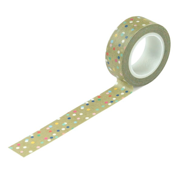Echo Park Dive Into Summer Good Vibes Dot Washi Tape