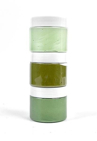 Picket Fence Studios Paper Glaze Ombre - Grass Greens