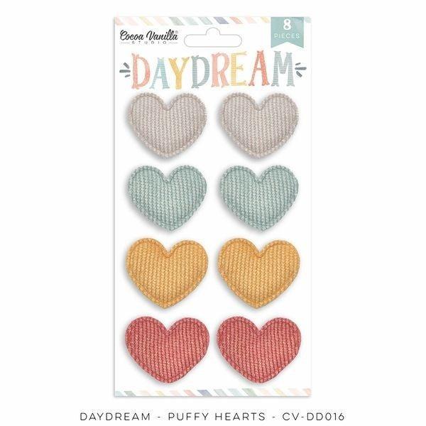 COCOA VANILLA STUDIO DAYDREAM PUFFY HEARTS