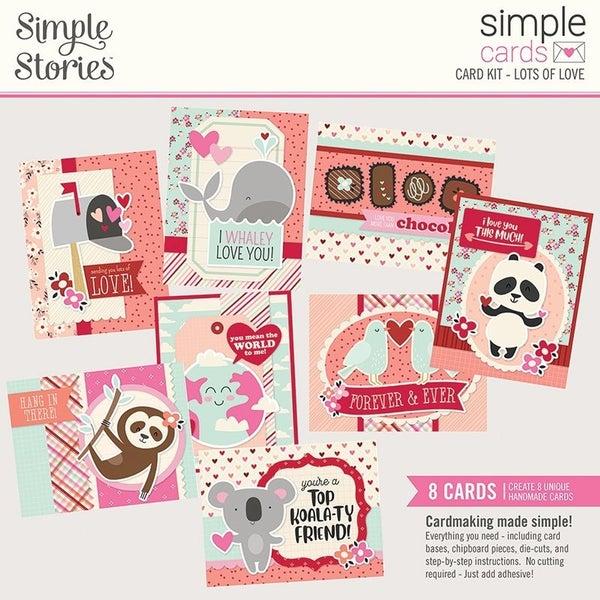 Simple Stories Sweet Talk Simple Cards Card Kit