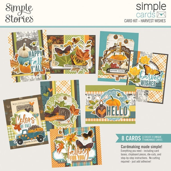 Simple Stories - Simple Cards Card Kit  Harvest Wishes