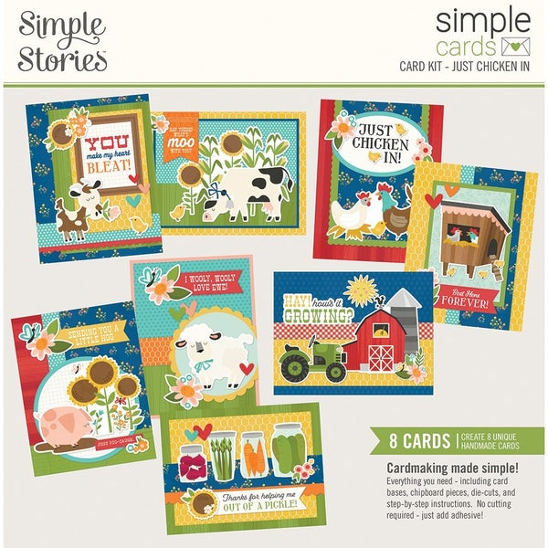 Simple Stories Simple Card Kit - Just Chicken In  HOMEGROWN