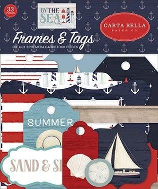 Carta Bella By The Sea Ephemera & Frames and Tags