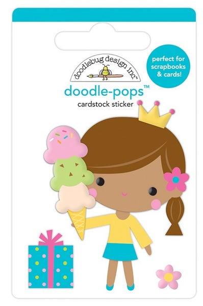 Doodlebug Design Hey Cupcake Doodle-Pop  Birthday Princess