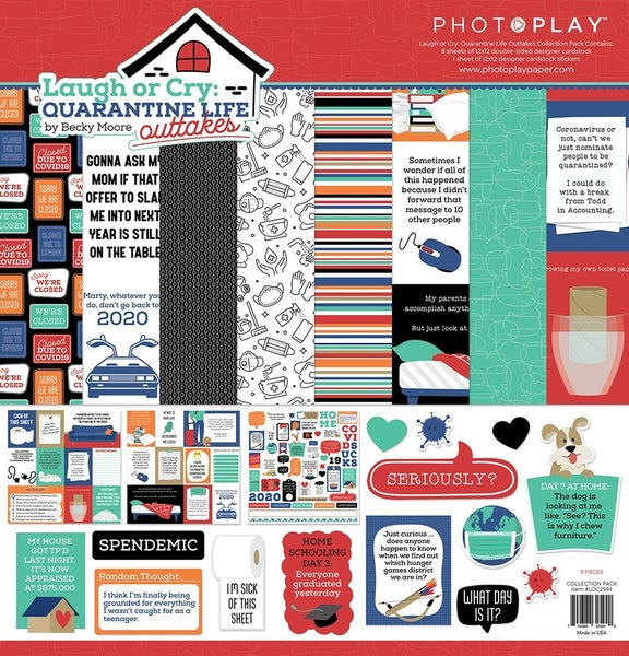 PhotoPlay Laugh or Cry 12 x 12 Collection Pack