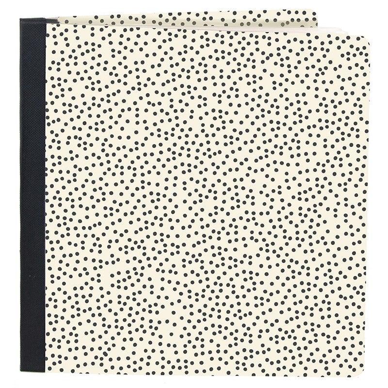 Simple Stories - Hello Today SNAP Studio Flipbook - 6 x 8 Flipbook - Speckle Dots