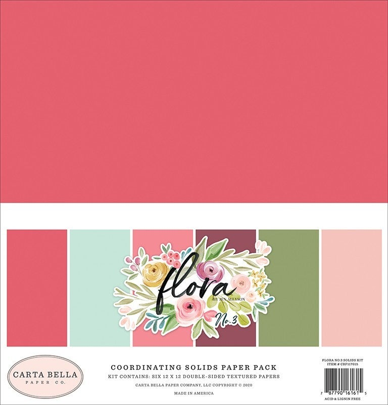 Carta Bella Flora No. 3 - 5 pc Happy Scrappy Bag