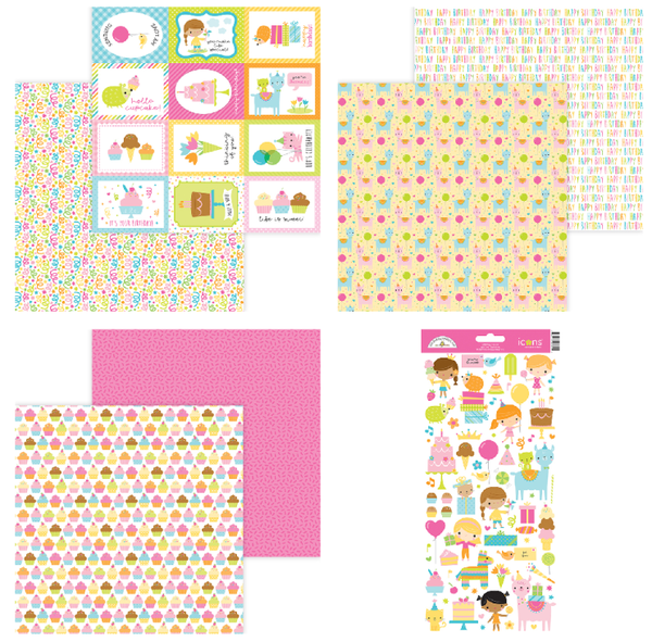 Doodlebug Design Hey Cupcake 7 pc set