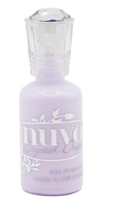 Nuvo - Crystal Drops - French Lilac - 696N