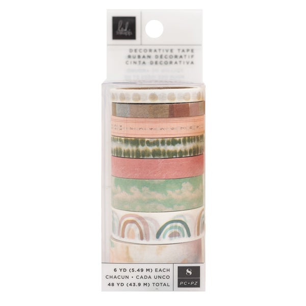 Heidi Swapp - Care Free Collection - Washi Tape Set