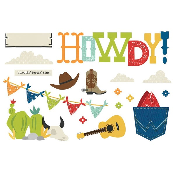 Simple Stories Simple Pages Howdy! Page Pieces