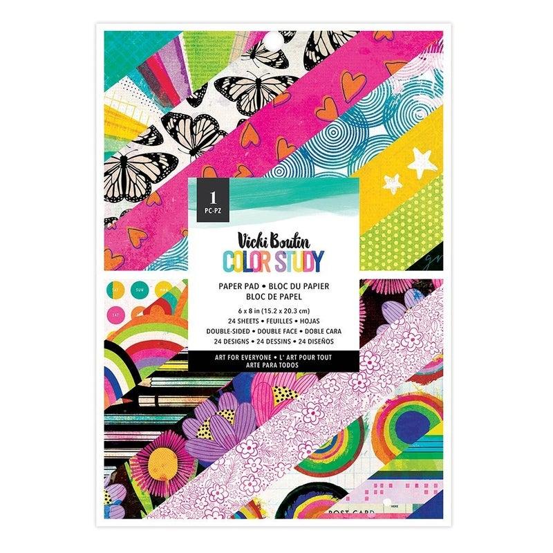 Vicki Boutin Color Study 6 x 8 Paper Pad