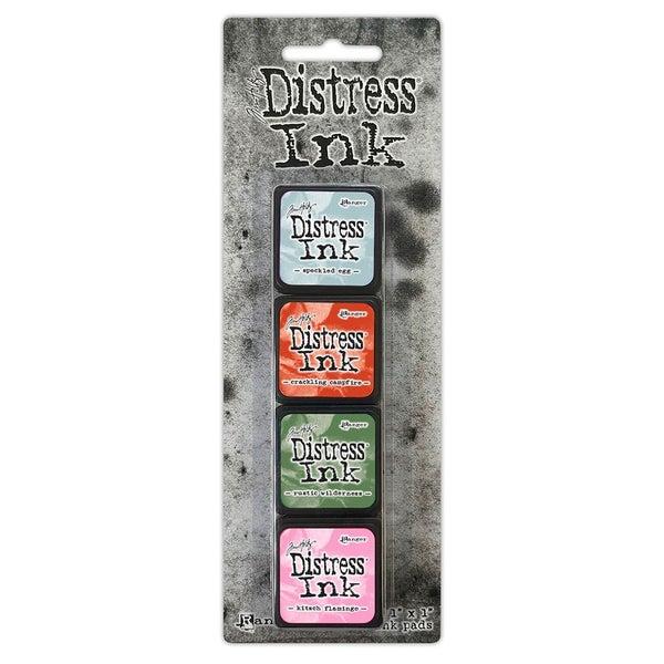 Tim Holtz  Distress Ink Pads  Mini Ink Kit  Sixteen
