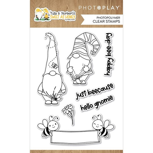Photo Play Tulla and Norbert's Sweet As Honey  Clear Stamps