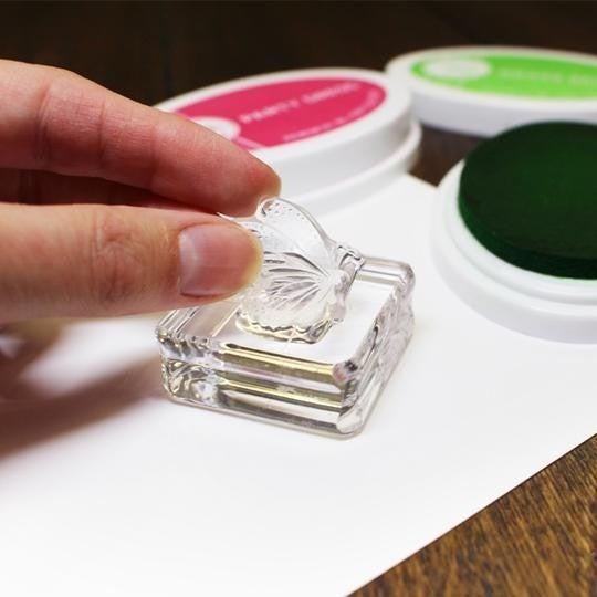 "Catherine Pooler Acrylic Grid Stamping Block 1-1/2 x 1-1/2"""