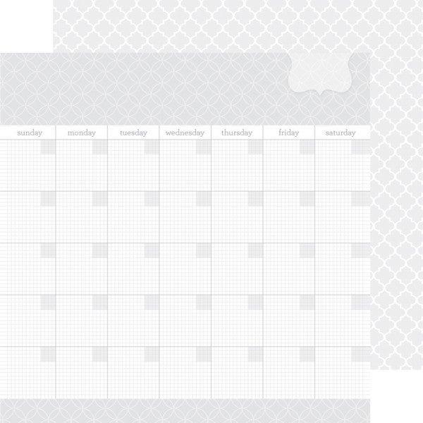 Doodlebug Design LILY WHITE DAILY DOODLES 2 pc Set