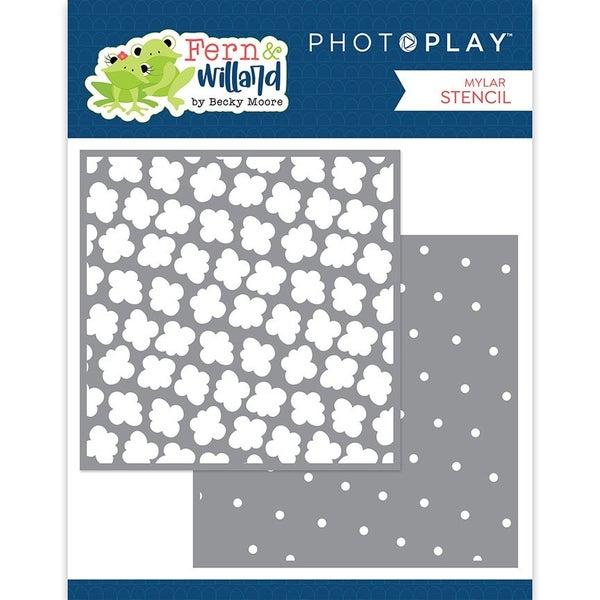 Photo Play  Fern and Willard 6 x 6 Stencil