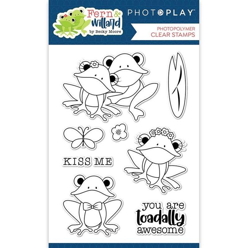 PhotoPlay Fern & Willard 6 pc Happy Scrappy Bag